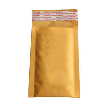 10X Bubble Bag Padded Envelopes Mailers Shipping Yellow Post Data Intact AUFT