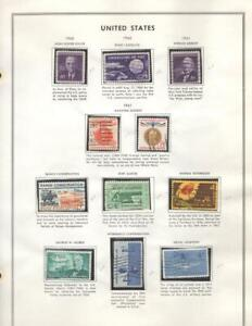 1¢ WONDER'S ~ US 1960'S USED ON PAGE ALL SHOWN - V168