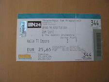 Jon Lord Beyond the Notes Tour 2004 Ticket Stuttgart 23.10.2004 Deep Purple