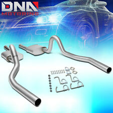 FOR 1994-1995 FORD MUSTANG 5.0L STAINLESS DUAL MUFFLER CATBACK EXHAUST SYSTEM