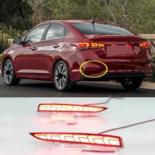 2018-2020 For Hyundai Accent LED Rear Fog Lights/ Brake Warning Lights 2pcs