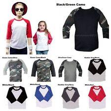 Boys' 3/4 Sleeve Sleeve Tops & T-Shirts (Sizes 4 & Up)
