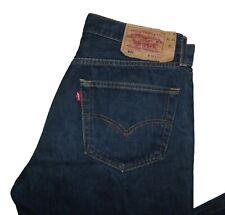 LEVIS Jeans 501 SizeW33 Uomo BLU Denim uomo pants pantaloni vintage man USA