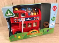 Early Learning Centre ELC Happyland London Bus with Sounds & Figures - Brand New