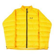 JACK WOLFSKIN Down Fill Puffer Jacket | Coat Puffa Zip Hooded Wind Padded