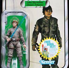 Star Wars ESB Vintage Retro VC04 Luke Skywalker Bespin Fatigues MOC Figure TVC