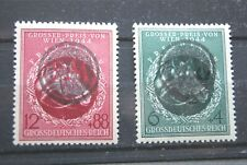 German Stamps. THIRD REICH SET WITH LOCAL CANCELS. UMM.