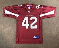 Terrence Holt Arizona Cardinals NFL Football Jersey #42 Men's Size S Red Reebok