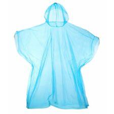 Pocket Poncho Light Rain Coat Waterproof Festival Camping Hiking Hooded Cape