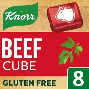 Knorr Beef 8 Stock Cubes 80G    (Pack of 1-4)