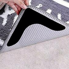 New listing Rug Grippers with Super Stickiness- Anti Curling Carpet Tape Non-Slip Black