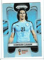 2018 Panini Prizm World Cup Soccer Edinson Cavani (Uruguay) SILVER PRIZM