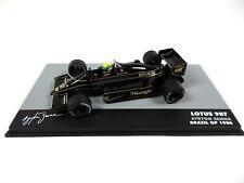 Formula 1 Lotus 98T Ayrton Senna GP Brazil 1986 - 1:43 MODEL CAR F1 711