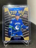 Quinn Hughes 2019-20 Upper Deck Allure Top 50  # T50-21 Vancouver Canucks