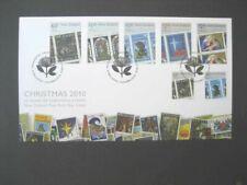 NEW ZEALAND FDC-2010 CHRISTMAS SG 3240/6