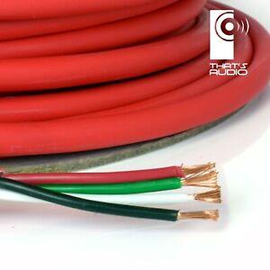 4-Core Speaker Cable (LSZH /LSOH) for Internal Cavity Walls 30/0.24mm -per metre