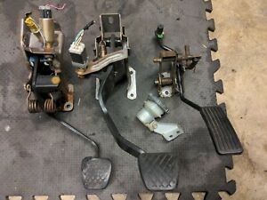OEM 97-01 Honda Prelude Manual Transmission Pedal Assembly Clutch MT Reservoir