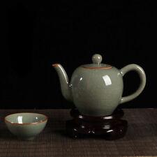 1pc China Longquan celadon Mi kiln beauty tea pot 260ml