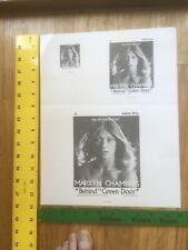 Marilyn Chambers Behind the Green Door  adult movie  gloss advertising mat.RARE