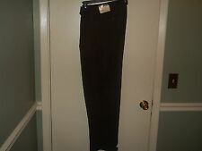 Irvine Park Mens Dress Pants Size 30 X 32 Brown Pleated Front Cuffed Legs NWT