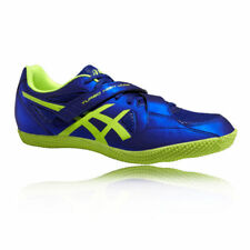 Asics turbo High Jump 2 señores atletismo spikes zapatillas calzado deportivo azul