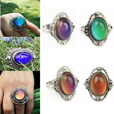 1pcs Adjustable Mood Ring Temperature Control Changing Color Women Magic Jewelry