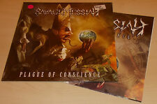 SAVAGE MESSIAH-PLAGUE OF CONSCIENCE-2012 LP PINK VINYL+POSTER-100 ONLY-NEW