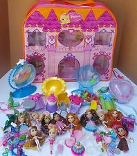 Barbie Peekaboo Petites Mini Dolls Locket Place Play Set Huge Lot Birthday Case
