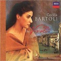 """CECILIA BARTOLI """"THE VIVALDI ALBUM"""" CD NEU"""