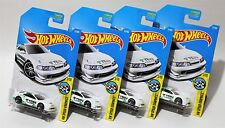 CUSTOM '01 ACURA INTEGRA GSR * LOT OF 4 * 2017 HOT WHEELS * T TEIN SUSPENSION