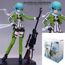 Sword Art Online 2 SAO Gun Gale Online GGO Sinon 19cm Figure Figurine New in Box