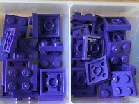 6047422 4224861 Brick 3022 10x LEGO NEW 2x2 Dark Purple Plate