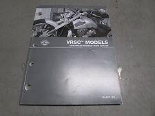 OEM HARLEY-DAVIDSON VRSC MODELS 2009 PARTS CATALOG. USED.