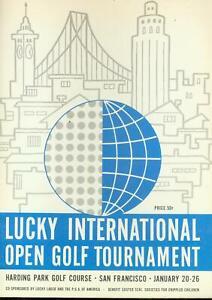 Lucky International Open Golf Tournament Program January 20 1964