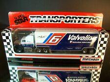 Mark Martin #6 Valvoline 1993 1:87 Racing Team Transporter Matchbox