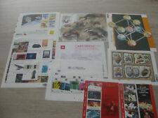 timbres belge 9 feuilltets neufs**