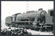 RQ38t SPAIN RENFE steam locomtive 241.2048 at Madrid Atocha 11/5/64 ex MZA 1748