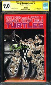 Teenage Mutant Ninja Turtles #1 CGC 9.0 (1988) Signed by Kevin Eastman!L@@K!