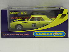 Scalextric 2759 Slot Car Chevrolet Camaro Stubber Historic Touring No.31 M. 1:32
