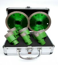 6-teiliges Premium Diamant-Bohrkronen Set M14 20/25/40/45/50/68mm+2x Cobra Cut