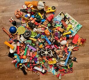 Vintage 80s Toy Gumball Prizes Keychain charms Lot