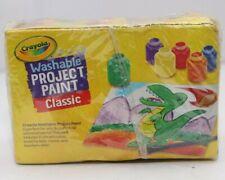 CRAYOLA 6 Washable Kids Paint, Pack of 6 Paints Set PR789 01