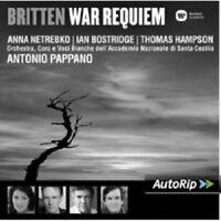 PAPPANO/NETREBKO/BOSTRIDGE/HAMPSON/OASCR - WAR REQUIEM  CD NEU BRITTEN,BENJAMIN