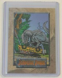 1992 Topps Comics Jurassic Park T-Rex #6 Promo Comic Card