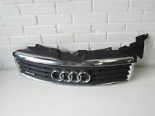 Audi A8 D3 Upper Centre Bumper Grill Damaged #1 4E0807653A