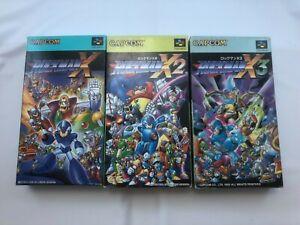 Rockman X1, X2, X3; Super Famicom; Japan Import