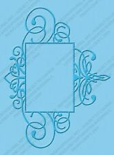 FLOURISHED FRAME Embossing Folder For Cricut Cuttlebug Die Cut Embossing Machine