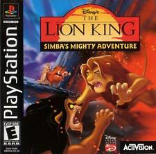 The Lion King Simbas Mighty Adventure - PS1 PS2