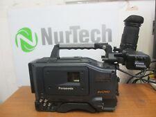 Panasonic DVCPRO AJ-D410AP  Video Camera W/ Panasonic AJ-VF10P Viewfinder