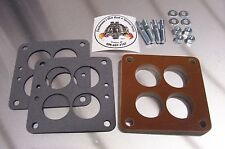 """Fits Small WCFB Carter Phenolic Carb Insulator Spacer Holley Teapot Riser 1/2"""""""